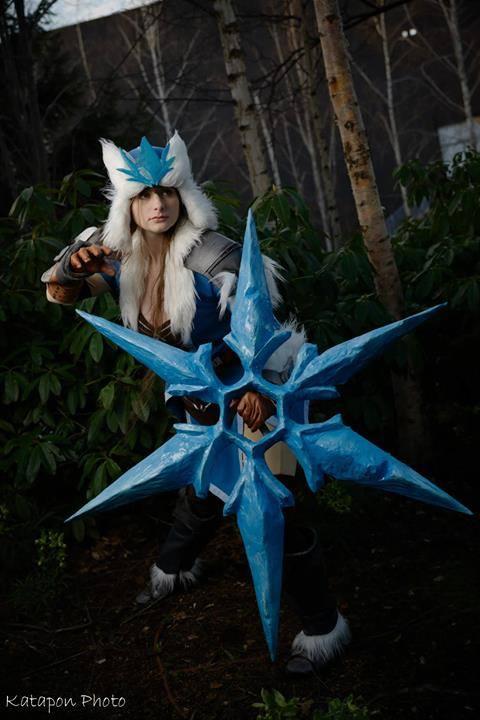 Bộ cosplay Sivir Bão Tuyết cực ấn tượng - Ảnh 1