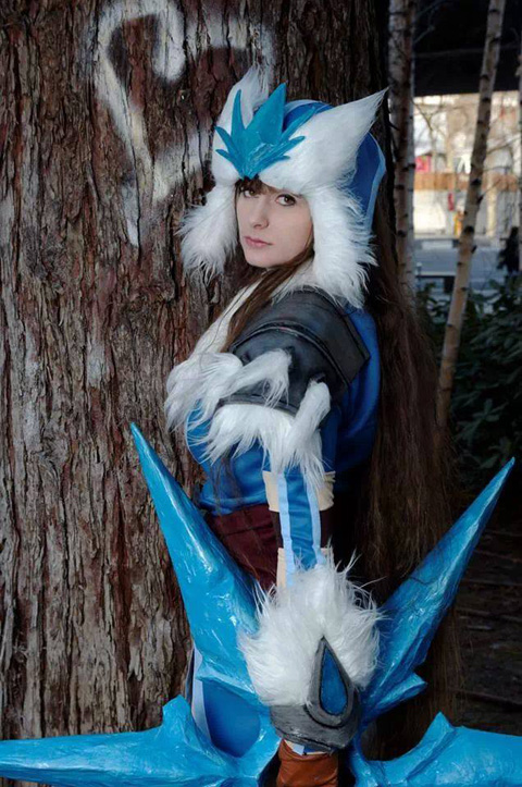 Bộ cosplay Sivir Bão Tuyết cực ấn tượng - Ảnh 4