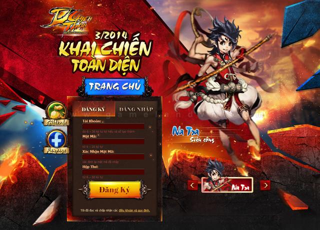 Webgame Đấu Chiến Thần cập bến Việt Nam 1