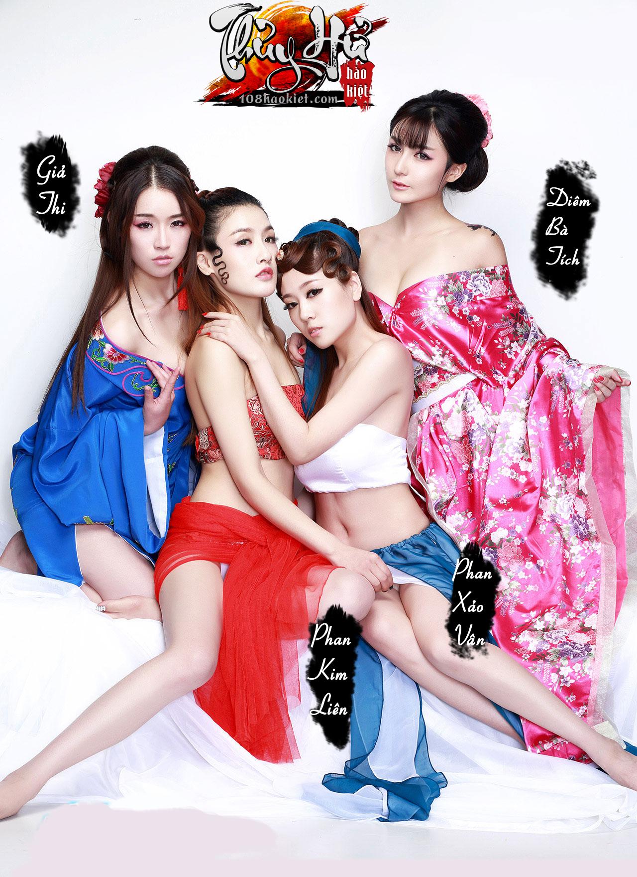 """Ngắm cosplay """"xôi thịt"""" của Thủy Hử Hào Kiệt - Ảnh 11"""