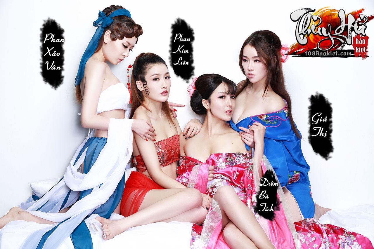"""Ngắm cosplay """"xôi thịt"""" của Thủy Hử Hào Kiệt - Ảnh 15"""