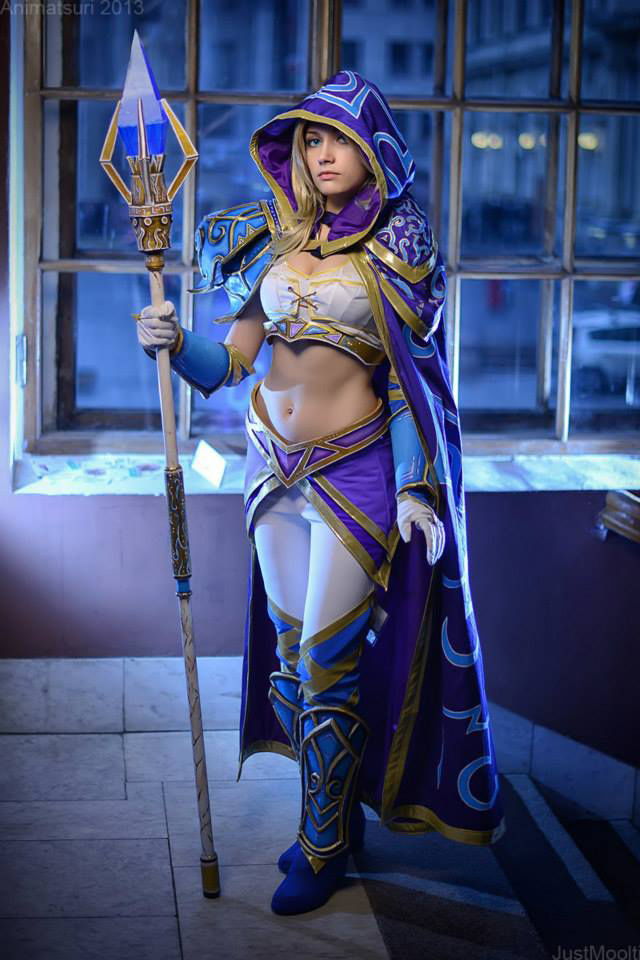 Jaina bước từ Warcraft III ra ngoài đời thực - Ảnh 11