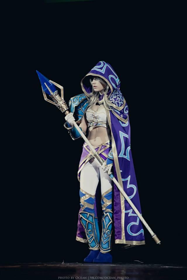 Jaina bước từ Warcraft III ra ngoài đời thực - Ảnh 14