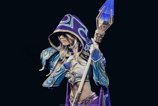 Jaina bước từ Warcraft III ra ngoài đời thực - Ảnh 16