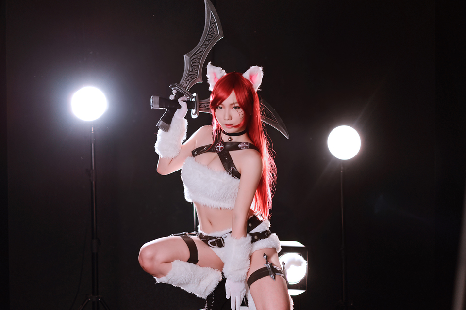 Cosplay Katarina Mèo Kitty cực quyến rũ - Ảnh 11