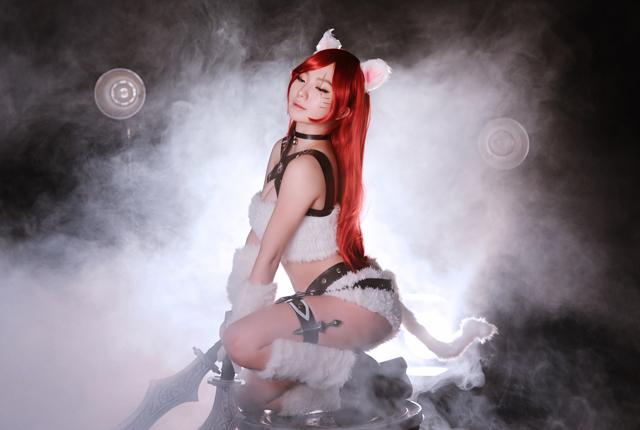 Cosplay Katarina Mèo Kitty cực đáng yêu của CSL 5