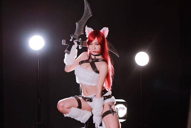 Cosplay Katarina Mèo Kitty cực đáng yêu của CSL 11