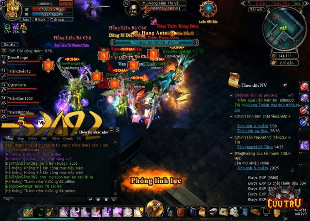 Người chơi Cửu Trụ trực chiến 28 giờ để gặp siêu boss 3