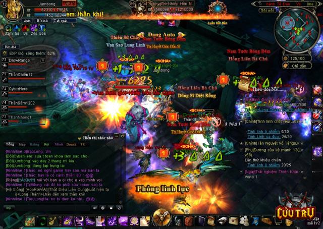 Người chơi Cửu Trụ trực chiến 28 giờ để gặp siêu boss 5