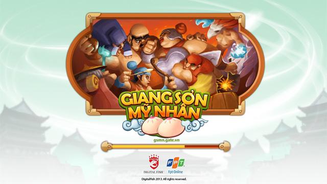 FPT Online trình làng game mới Giang Sơn Mỹ Nhân 1