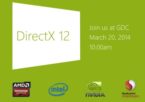 DirectX 12 sẽ được trình diễn tại GDC San Francisco 2