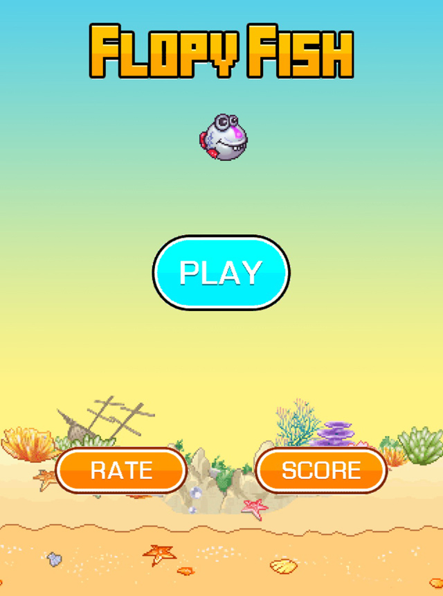 Flopy Fish: Bản sao của Flappy Bird từ Banana Games 2