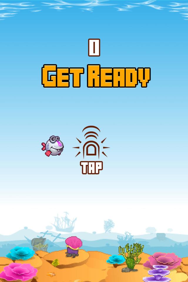 Flopy Fish: Bản sao của Flappy Bird từ Banana Games 4