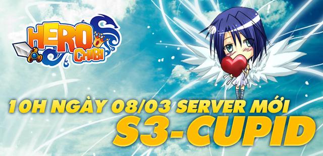 Hero Chibi ra mắt máy chủ mới Cupid 1