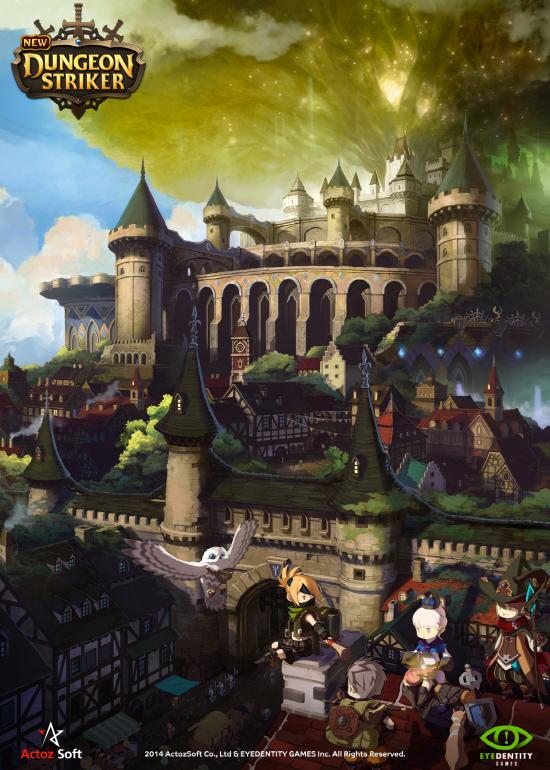 Actoz Soft phát hành lại Dungeon Striker tại Hàn Quốc 2