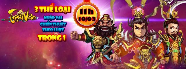 Triệu Vân Liệt Truyện tặng giftcode đón Open Beta 1