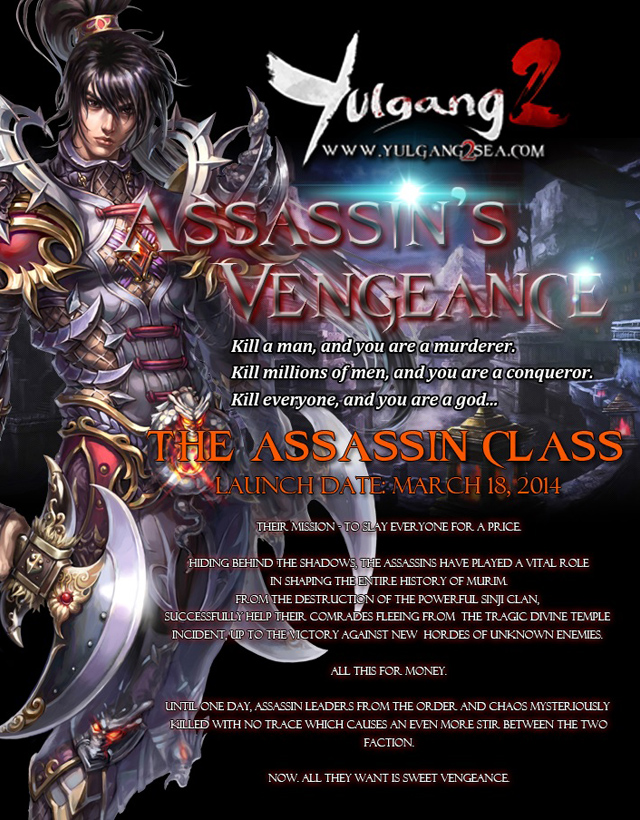 Yulgang 2 SEA trình làng nhân vật mới 2