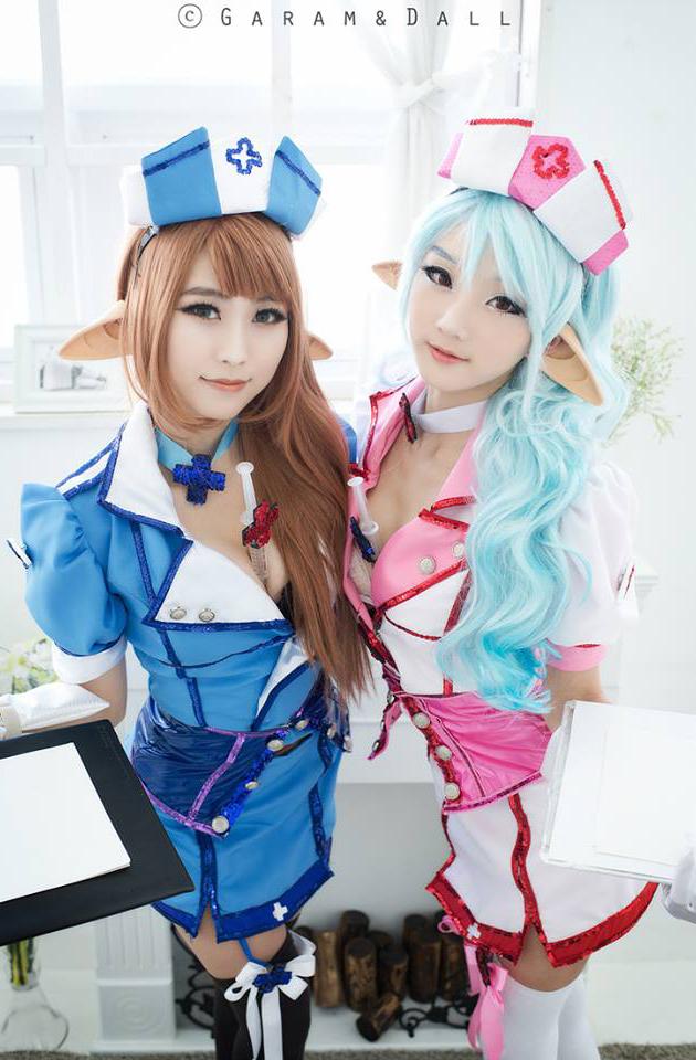 Jdoll và Miyuko quyến rũ với cosplay Chaos Online - Ảnh 11