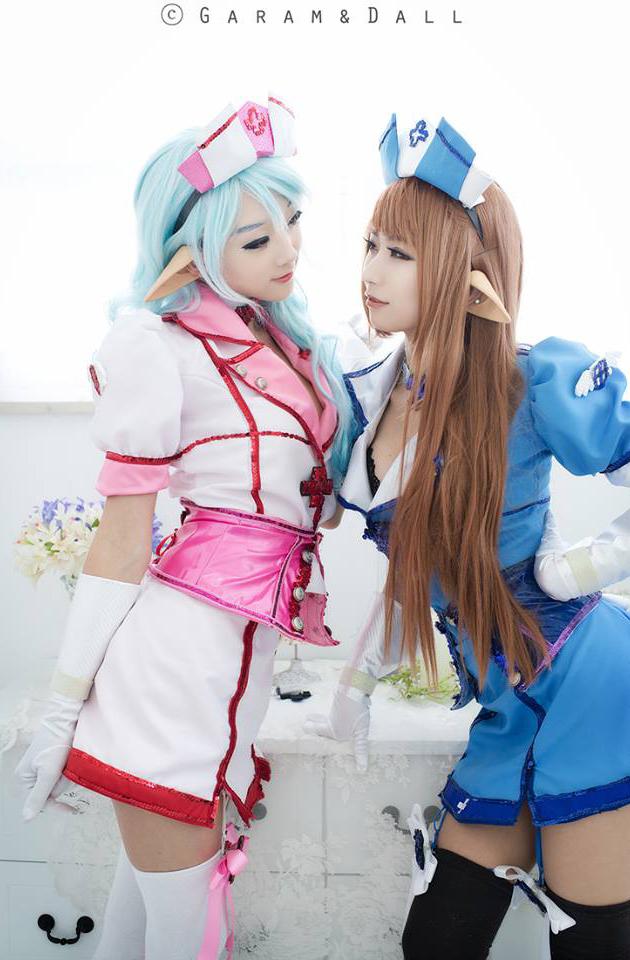 Jdoll và Miyuko quyến rũ với cosplay Chaos Online - Ảnh 24