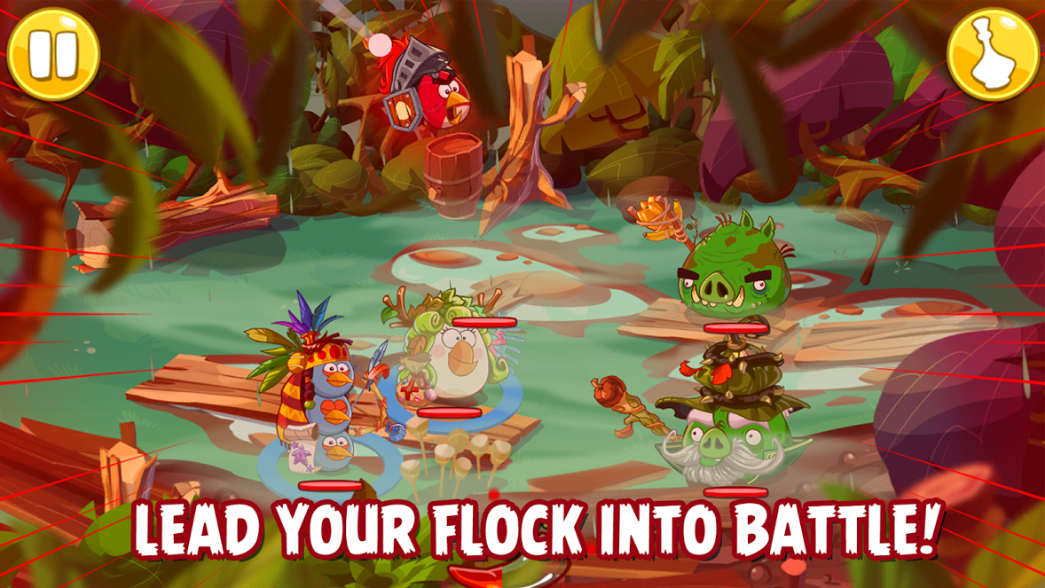 Angry Birds mới là một trò chơi nhập vai 3