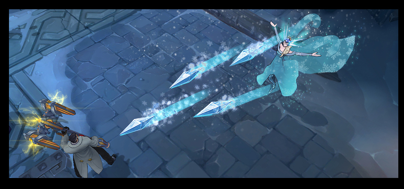 Ngắm trang phục mới của Syndra lấy ý tưởng từ Frozen 3