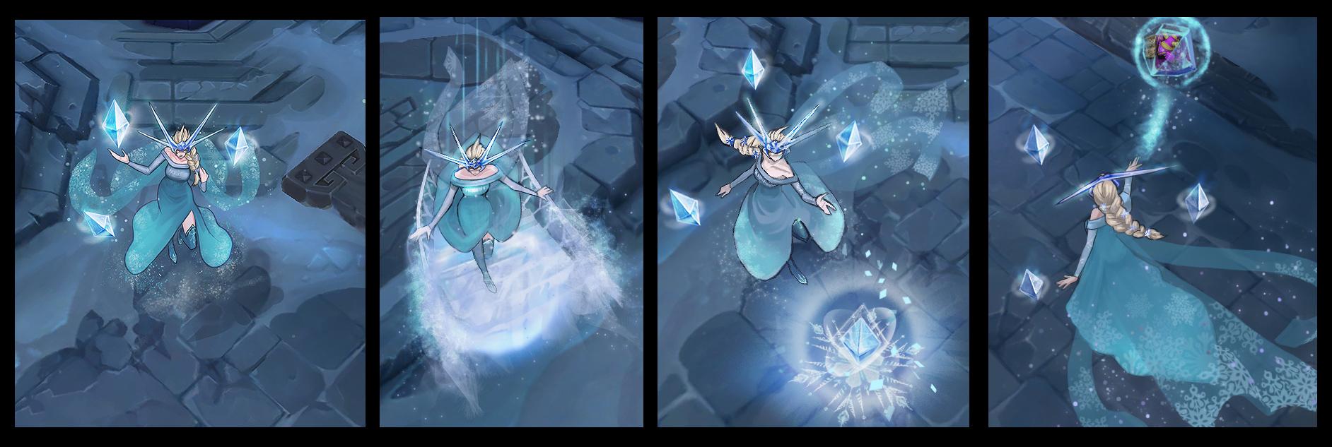 Ngắm trang phục mới của Syndra lấy ý tưởng từ Frozen 4
