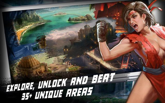 GREE trình làng game mới Rage of the Immortals 3