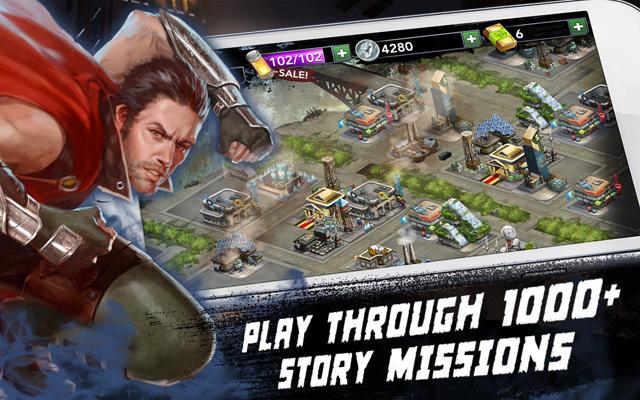 GREE trình làng game mới Rage of the Immortals 5