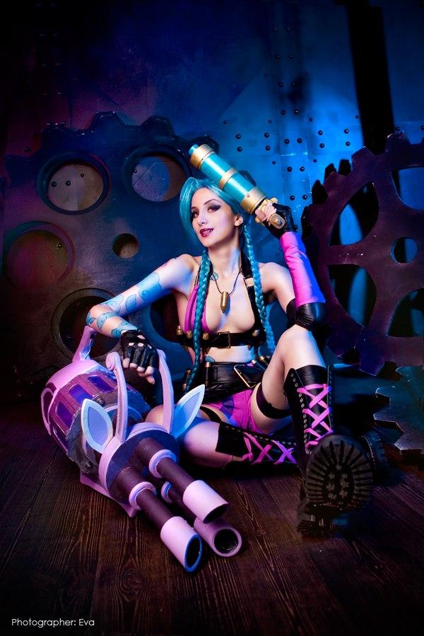 Cosplay Jinx tuyệt đẹp của cosplayer người Nga - Ảnh 3