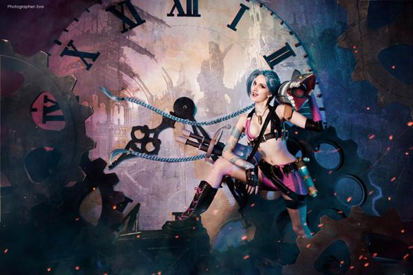 Cosplay Jinx tuyệt đẹp của cosplayer người Nga - Ảnh 13