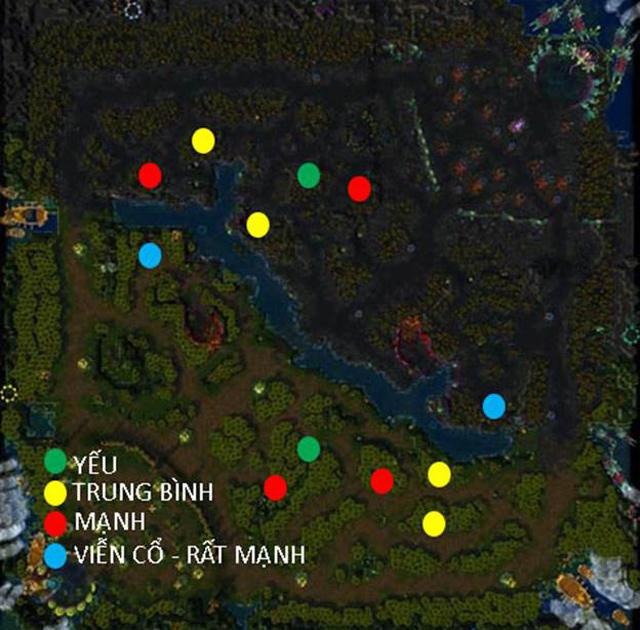 Tìm hiểu về vị trí đi rừng trong game Củ Hành 2