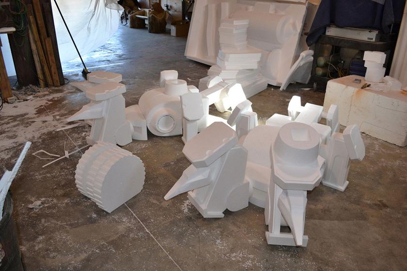 Chế tác robot trong Titanfall ở ngoài đời thực - Ảnh 1