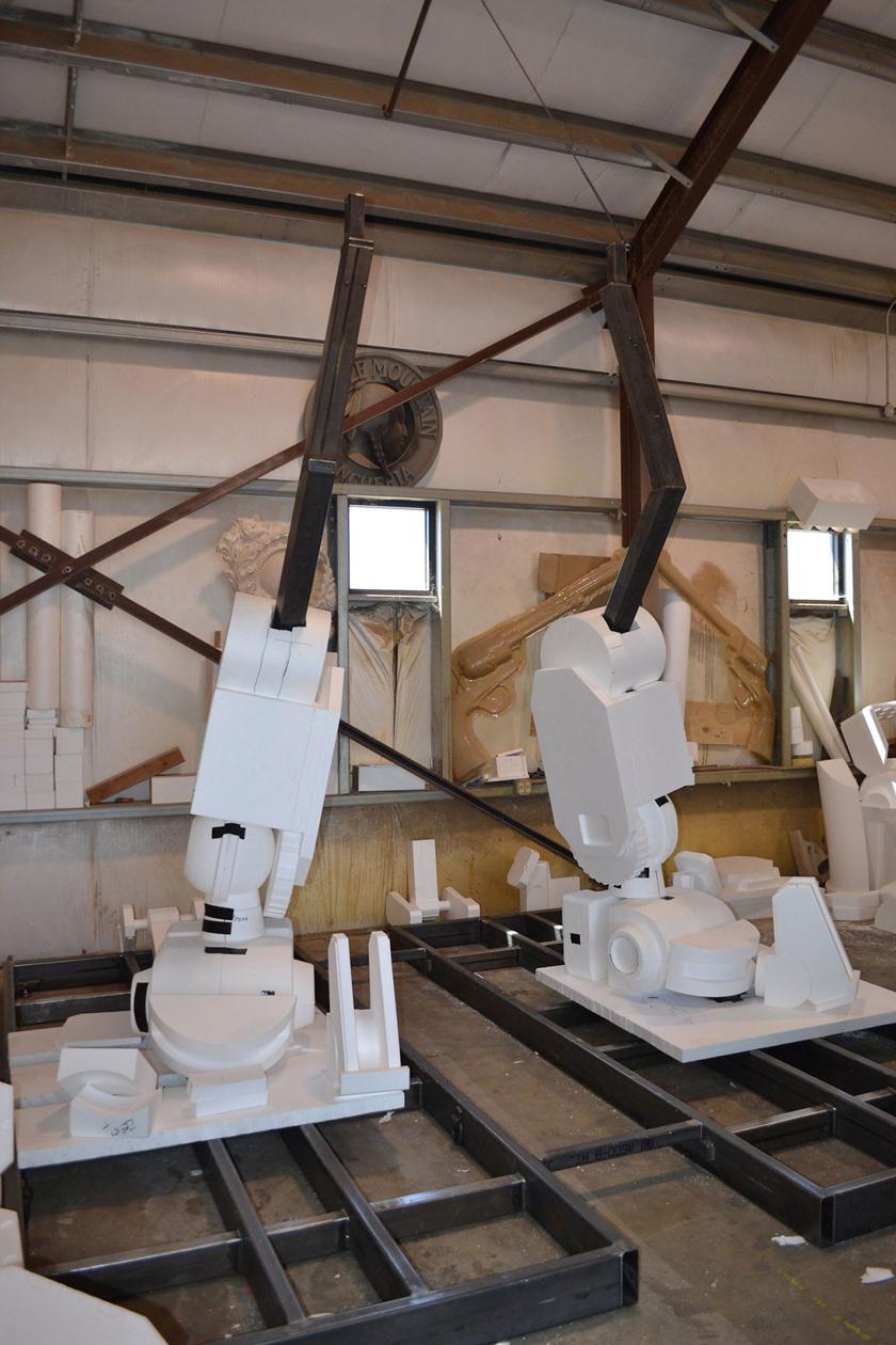 Chế tác robot trong Titanfall ở ngoài đời thực - Ảnh 5