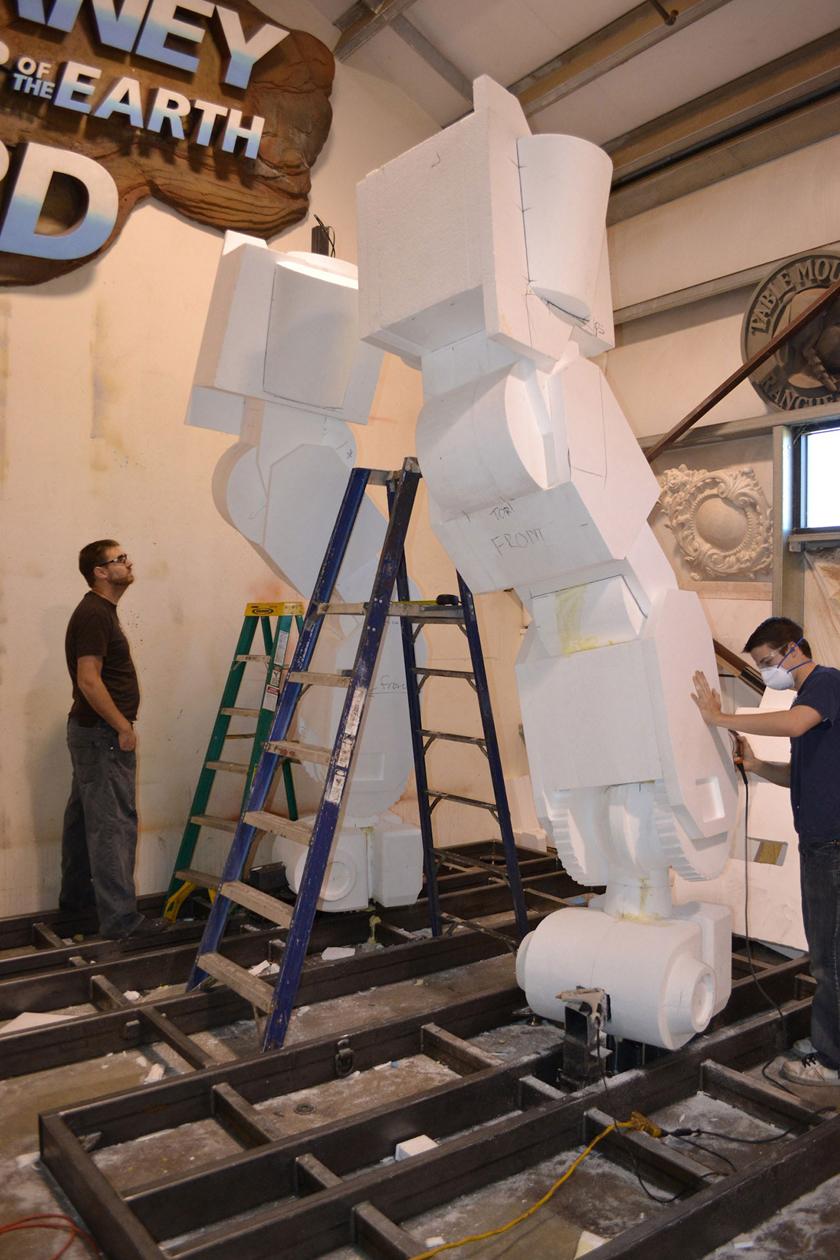 Chế tác robot trong Titanfall ở ngoài đời thực - Ảnh 7