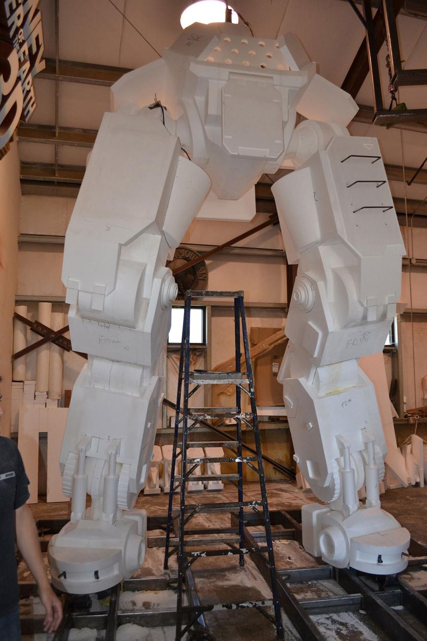 Chế tác robot trong Titanfall ở ngoài đời thực - Ảnh 10