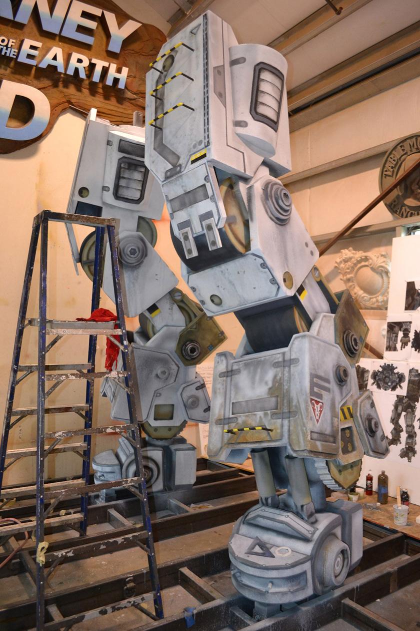 Chế tác robot trong Titanfall ở ngoài đời thực - Ảnh 13
