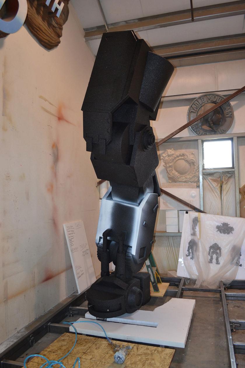 Chế tác robot trong Titanfall ở ngoài đời thực - Ảnh 15