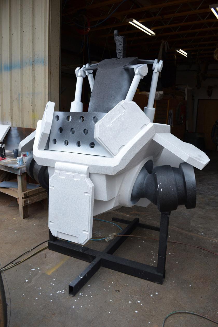 Chế tác robot trong Titanfall ở ngoài đời thực - Ảnh 17