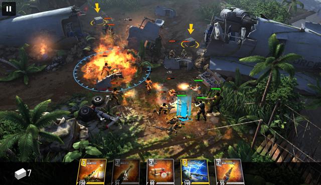Crytek trình làng game di động The Collectables 4