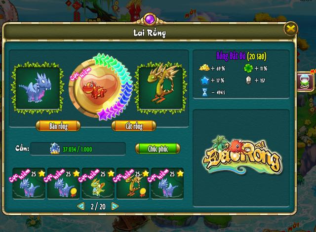 Đảo Rồng trình làng bản cập nhật tháng Ba 2