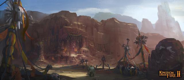 Blueside hé lộ về bản đồ mới trong Kingdom Under Fire II 12