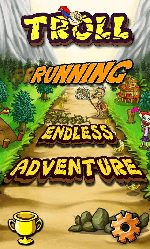 Troll Running có mặt trên Google Play và App Store 1