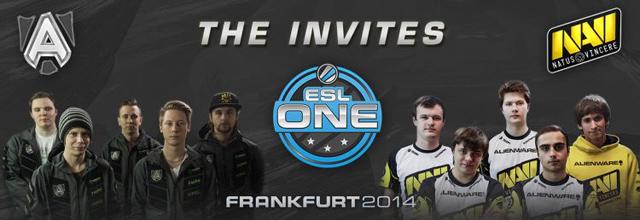 ESL One Frankfurt: Alliance và Natus Vincere được mời 2