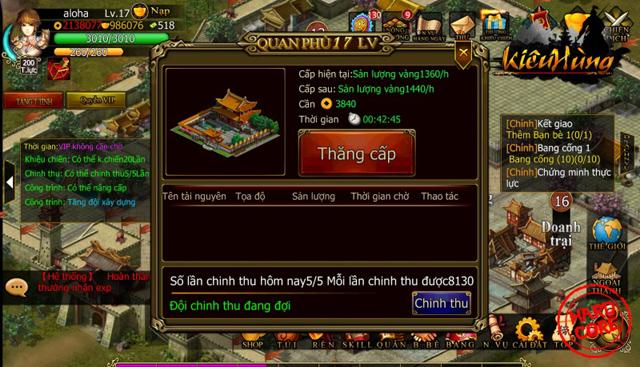 Kiêu Hùng ra mắt trang giới thiệu và ảnh Việt hóa 6