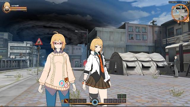 Ngắm hình ảnh trong game của Soulworker 2