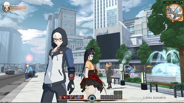 Ngắm hình ảnh trong game của Soulworker 3