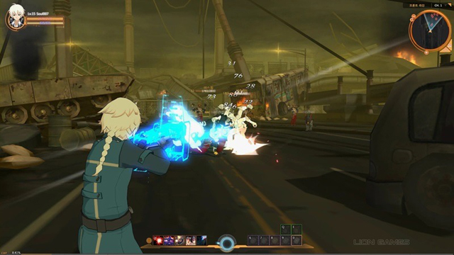 Ngắm hình ảnh trong game của Soulworker 8