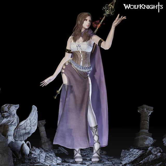 Lộ diện hình ảnh tạo hình nhân vật của Wolf Knights 17