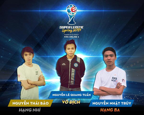 FIFA Online 3: Super League Mùa Xuân 2014 kết thúc 3
