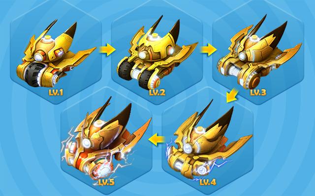 BangBang Online trình làng xe tăng mới Pikachu 2